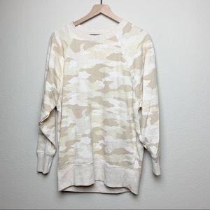 NWOT Aerie Oversized Camo Sweatshirt